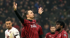 Ibrahimovic is still not clear whether he will AC Milan. EFE