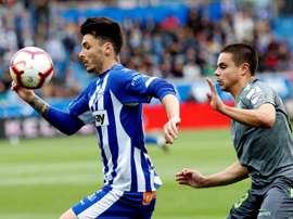 El Alavés sabe que es un momento crucial en la temporada. EFE