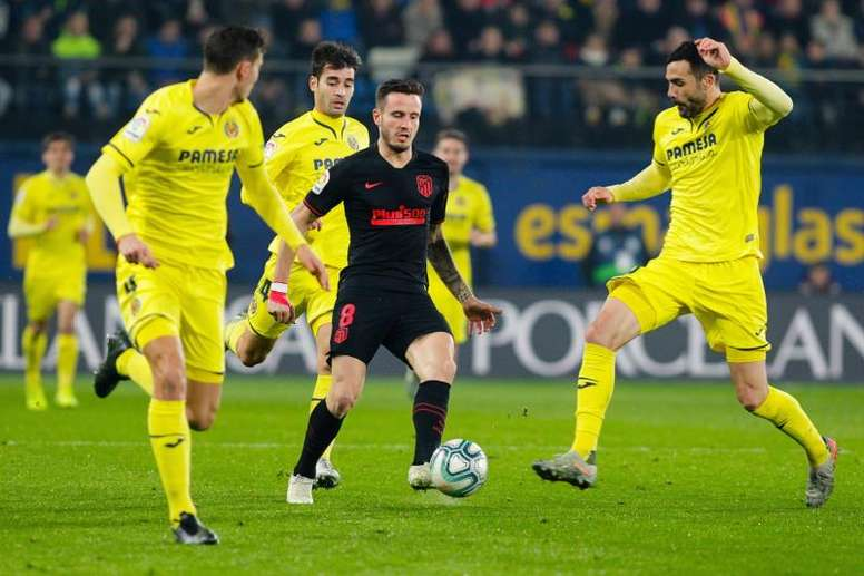 Saúl asustó a más de un hincha del Atlético con este comunicado. EFE