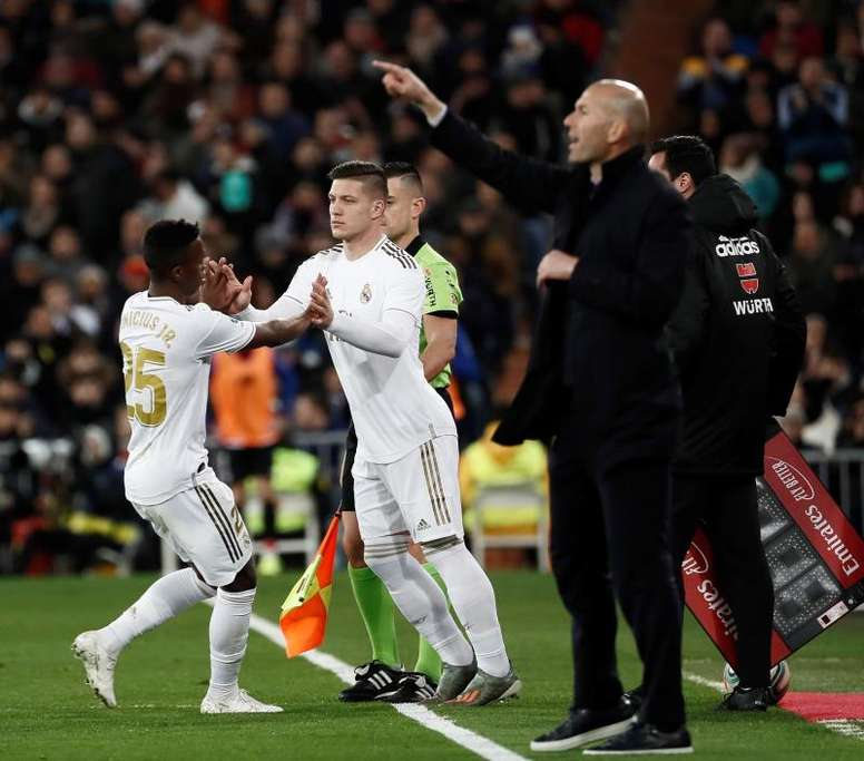 Jovic will be tested again this Monday. EFE