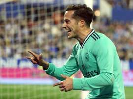 O time ideal de Lucas Vázquez tem oito madridistas. EFE