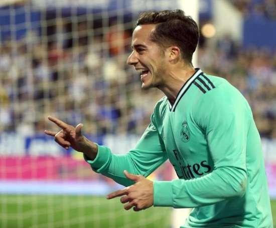 Lucas Vázquez está confiante para reverter a vantagem do Barcelona. EFE/Javier Cebollada