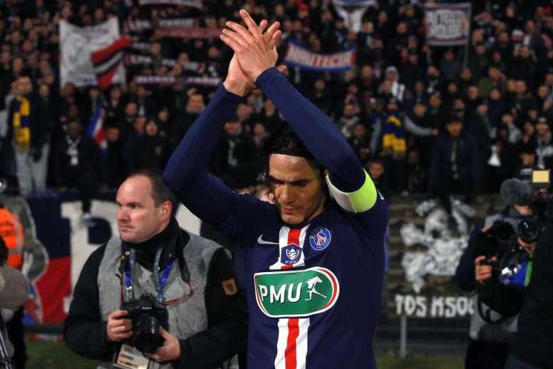 El Inter fichará a Cavani aunque Lautaro se quede. EFE
