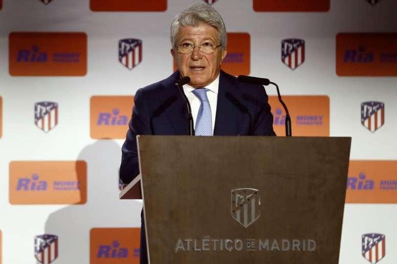 En el Atlético están centrados en la expansión del club por el mundo. EFE