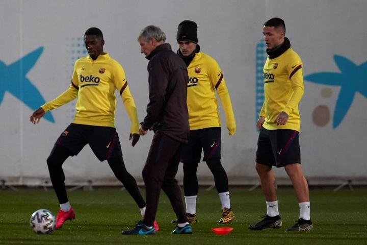 Manaj, a punto de cambiar el Barça por el Famalicao. EFE