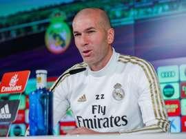 Zidane apoiaria vontade de Sergio Ramos. EFE/Emilio Naranjo