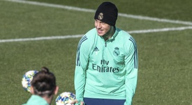 Real Madrid, amazed with Hazard's recovery. EFE