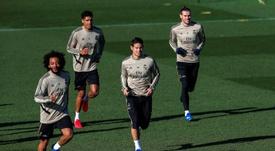 James y Bale, objetivo principal del plan de salidas madridista. EFE