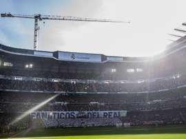 Réouverture du Bernabéu au public en octobre. EFE