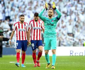 Oblak was voted player of the year by Atletico fans. EFE