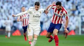 Retour de Fede Valverde pour le derby madrilène ? AFP