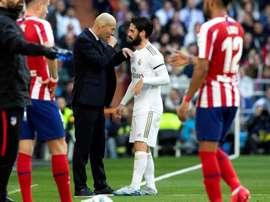 Isco interessa vários clubes da Premier. EFE/Rodrigo Jiménez