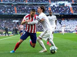 Atlético intend to keep Carrasco for another season. EFE