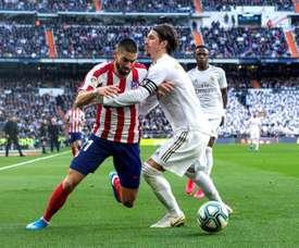 L'Atlético veut garder Carrasco pour la saison 2020-21. EFE