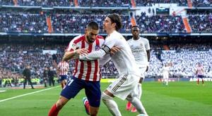 Atlético teve eliminação e somou apenas um ponto no Campeonato Espanhol. EFE/Rodrigo Jiménez