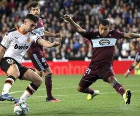 Murillo souffre d'une légère entorse et pourrait jouer au Bernabéu. EFE
