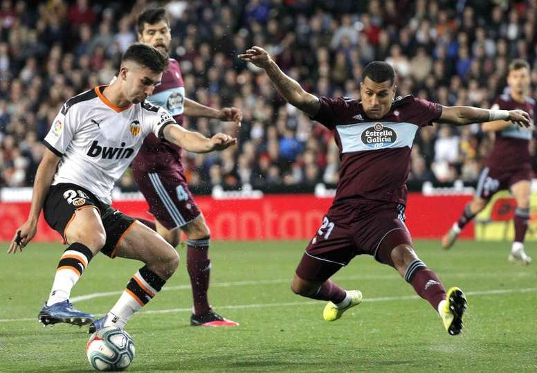 El Valencia quiere renovar a Ferran Torres. EFE