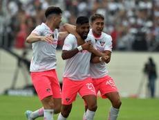 El punto fatídico da la Supercopa a Liga de Quito. EFE/Ariel Ochoa/Archivo