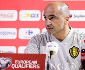 Roberto Martinez va prolonger son contrat avec la Belgique. EFE