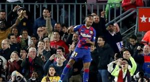 Intocável, Ansu Fati faz parte dos planos do Barcelona. EFE/Alberto Estévez