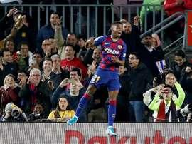 Barca rejected a huge offer for Ansu Fati. EFE