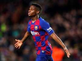 Ansu Fati resterà al Barcellona. EFE