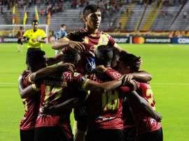 Dos goleadores sostienen el Maracá-Tolima. EFE