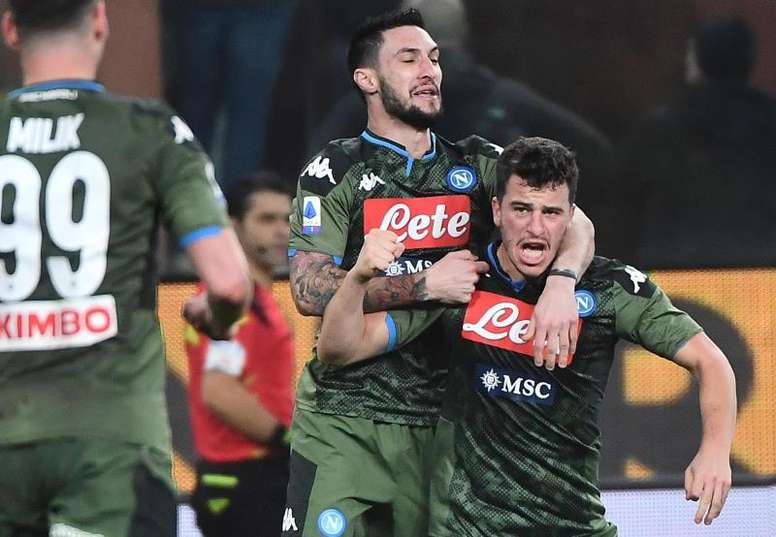El Nápoles venció a la Sampdoria. EFE/EPA/LUCA ZENNARO