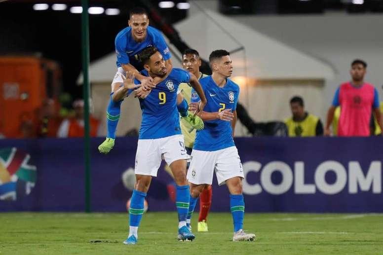 Matheus Cunha gusta al Inter. EFE