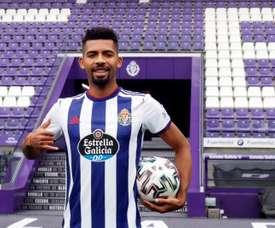 Matheus Fernandes veut apprendre à Valladolid. EFE