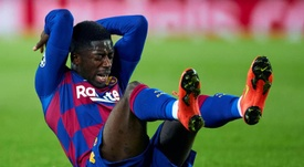 Barça won't allow Dembele to continue his recovery in Qatar. EFE