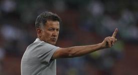 Osorio comparó a Vela y Lozano con Messi, Hazard y Neymar. EFE/Archivo