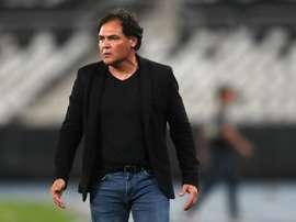 Celso Ayala vuelve a cruzarse con Mineros. EFE/Marcelo Sayão/Archivo