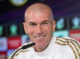 Zidane in conferenza stampa. EFE