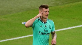 It was a first for Toni Kroos. EFE
