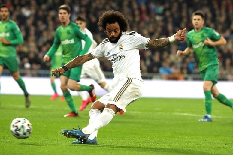 Marcelo pourrait être titulaire face au Celta. EFE