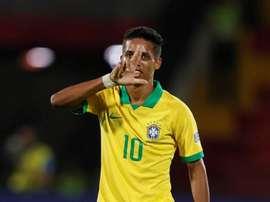 Les Corinthians recevront en avance l'argent de Pedrinho. EFE