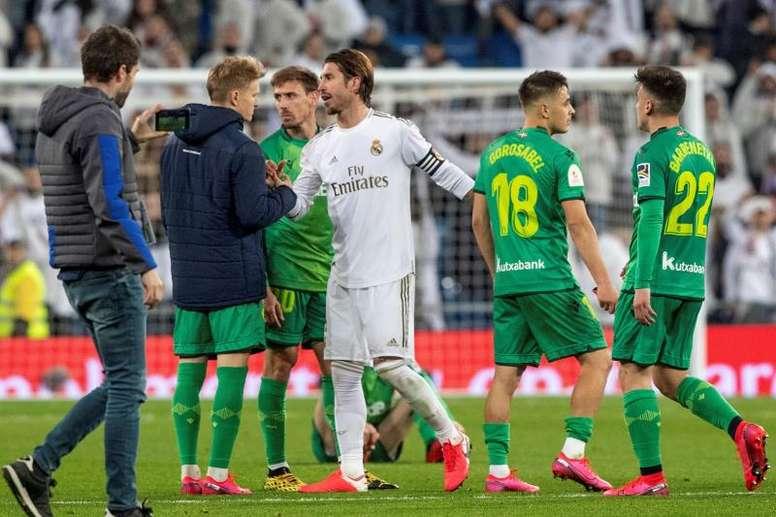 Le Real Madrid est éliminé de la Copa del Rey. EFE