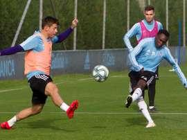 El Celta se enfrenta al Sevilla en Liga. EFE