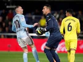 El Villarreal se enfrenta al Real Valladolid en Liga. EFE