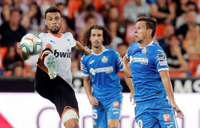 Getafe y Valencia pelearán por el mismo objetivo. EFE