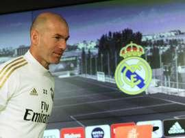 Zinédine Zidane était en conférence de presse. EFE