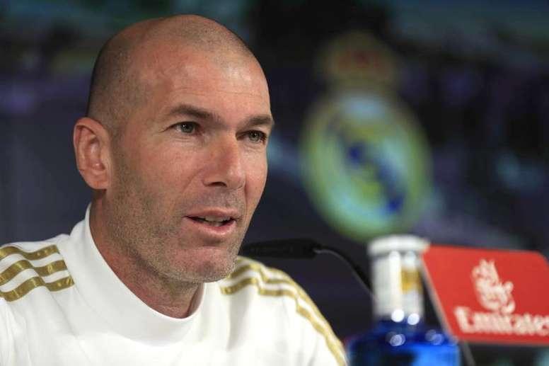 Zidane confirmed Eden Hazard is now fit. EFE