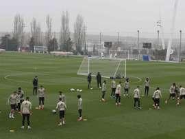 Isco, Carvajal et Nacho, très incertains pour le Betis. EFE