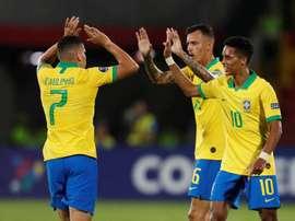 Brasil enfila los Juegos ante la clasificada Argentina. EFE