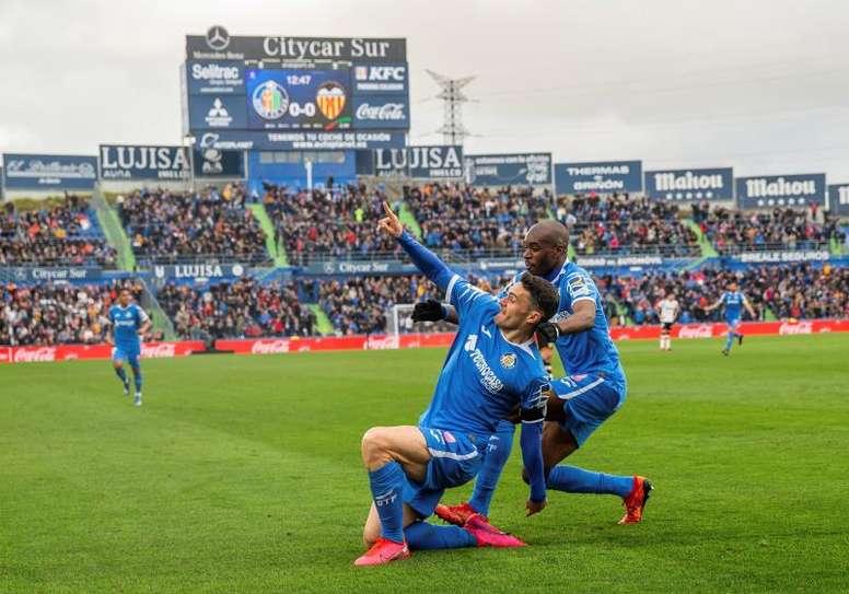 Bordalás y Molina creen que están firmando una temporada histórica. EFE