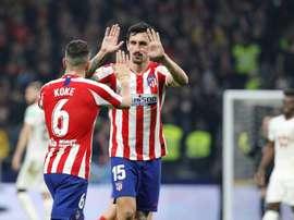 Savic prévient Liverpool : l'Atlético est fait pour les grands matchs. EFE