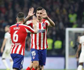 Savic says Atletico will be a their best. EFE