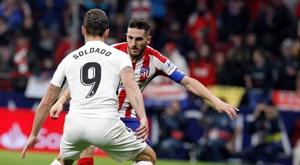 Prováveis escalações de Atlético de Madrid e Granada. EFE