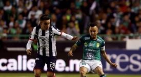 León mantuvo el liderato y dejó a Monterrey en último lugar. EFE